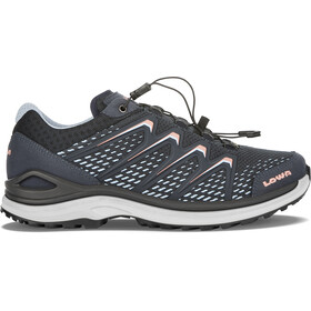 Lowa Maddox GTX Low Shoes Women steel blue/salmon